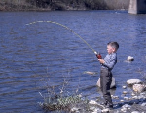 Five-year-old-Gary-pickerel-fishing-on-the-Thames-River-near-Komoka-Ontario.