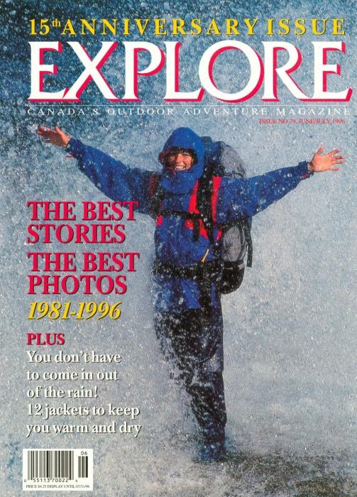 Explore Magazine Anniversary Cover