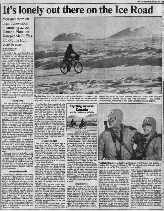 Toronto Star 1984