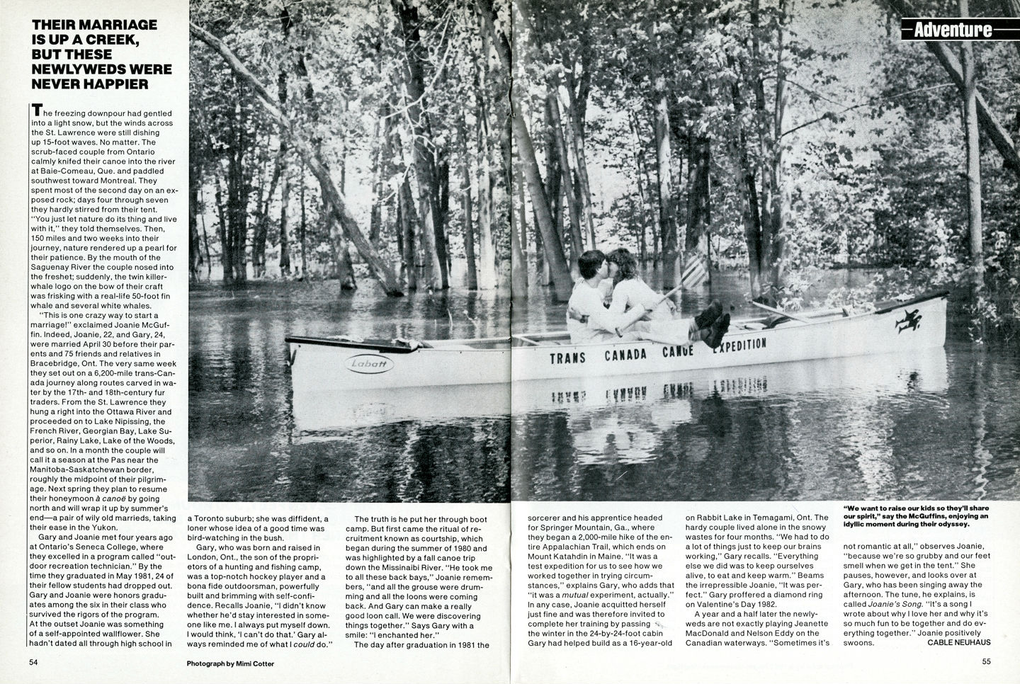 XC Canoe people mag001
