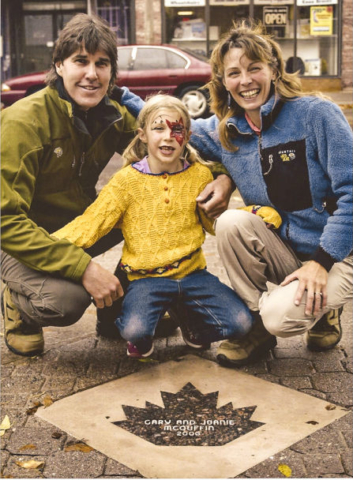Sault Ste. Marie Walk of Fame honoured for outstanding contribution to the community for environmental education and nature conservation.