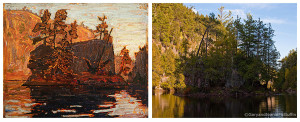 Tom Thomson Petawawa Gorges 1916 Art Gallery of Ontario.