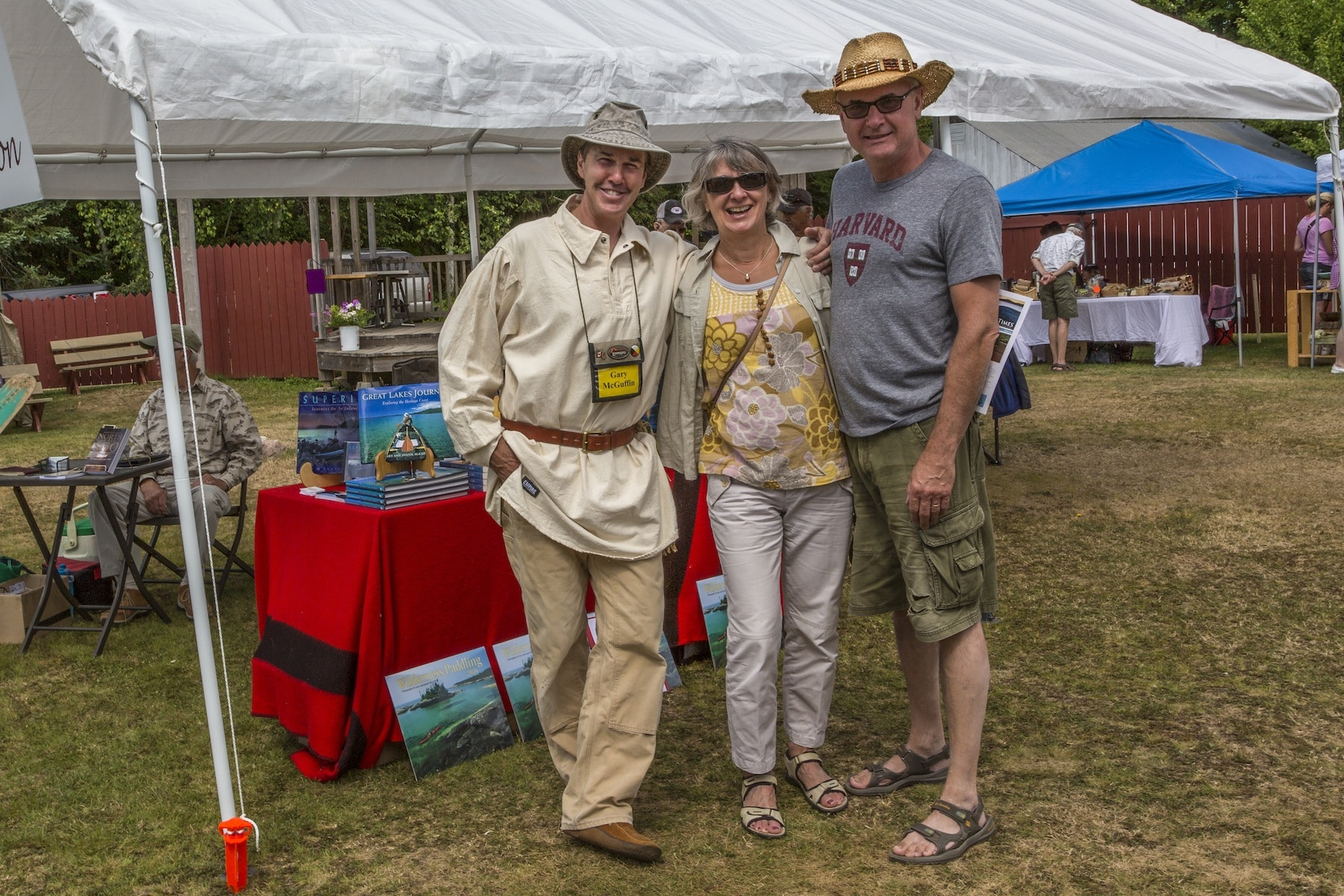 Geri and Enzo Turchet were among the many local friends that dropped by to visit our display at the Art on the Bay event at Batchawana Bay on Sat August 8th
