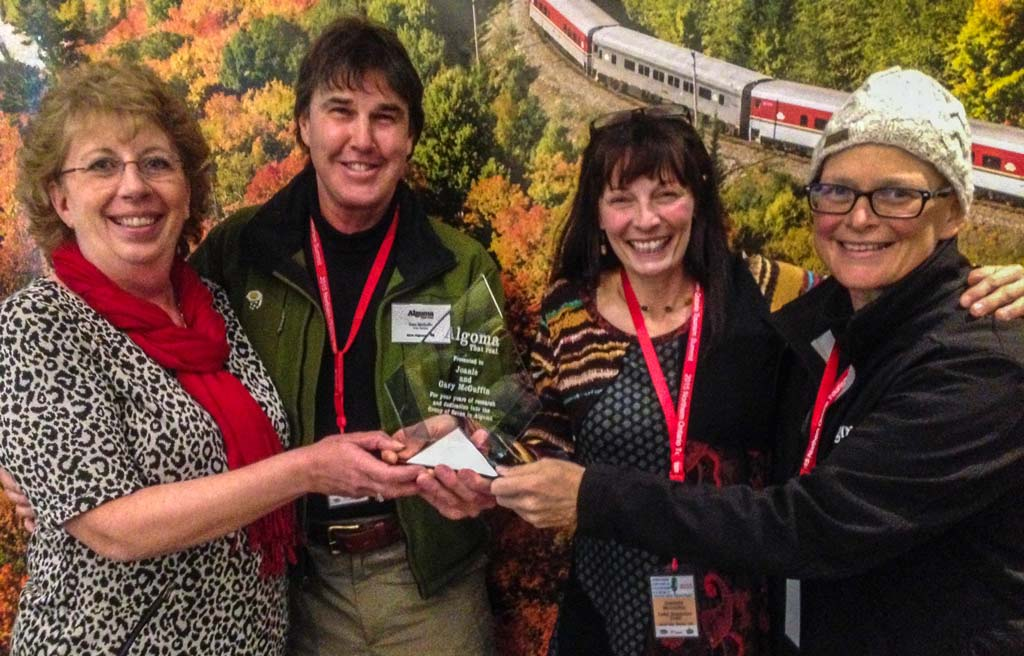 The McGuffins Win A 2015 Northern Ontario Tourism Award