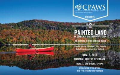 """Painted Land"" Presentation at CPAWS Fall Gala"
