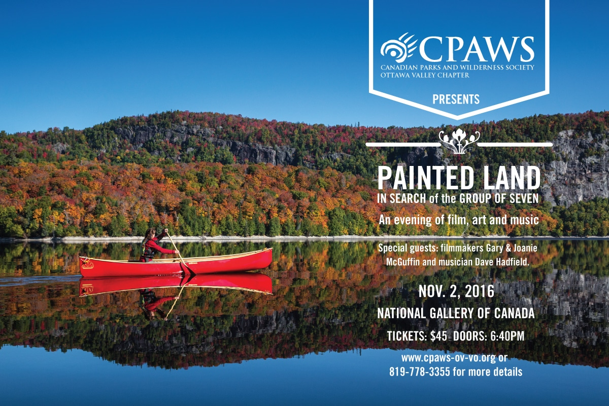 """Painted Land"""" Presentation at CPAWS Fall Gala   The McGuffins"""