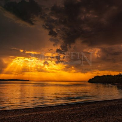 Rossport Islands Sunrise, Lake Superior